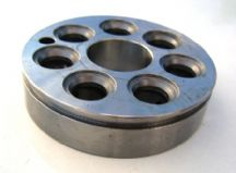 Valve body for 7 piston hydraulic pump